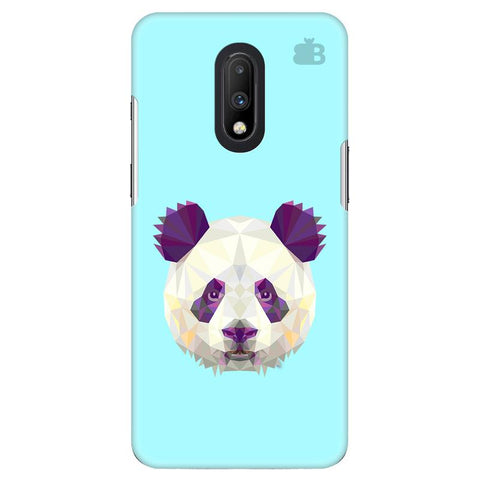 Abstract Panda OnePlus 7 Cover