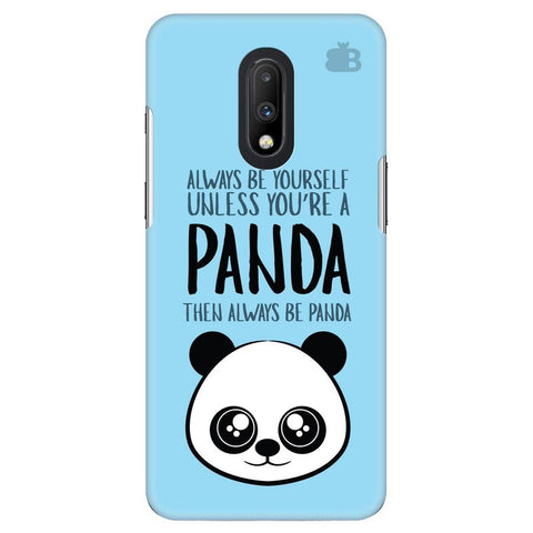 Always be panda OnePlus 7 Cover