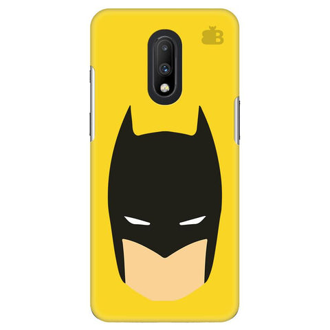 Angry Masked Superhero OnePlus 7 Cover