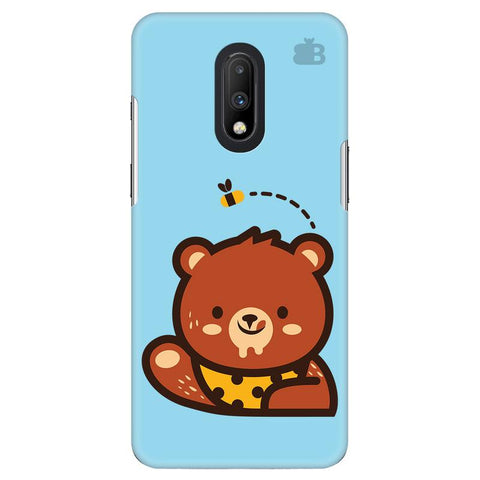 Bear Loves Honey OnePlus 7 Cover