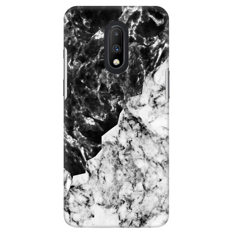 Black White Marble OnePlus 7 Cover