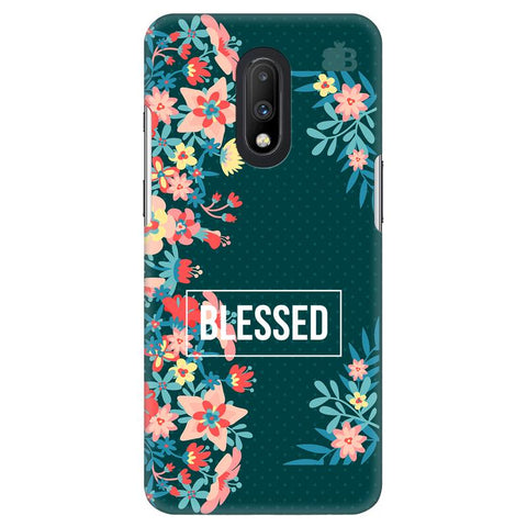 Blessed Floral OnePlus 7 Cover