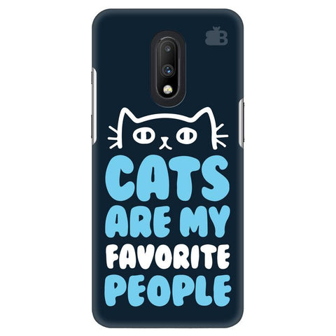 Cats favorite People OnePlus 7 Cover