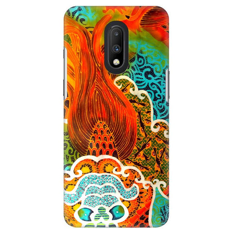 Colorful Batik Art OnePlus 7 Cover