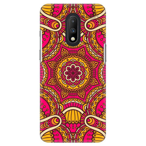 Colorful Ethnic Art OnePlus 7 Cover