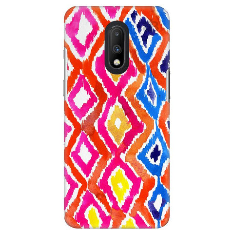 Colorful Ikat OnePlus 7 Cover