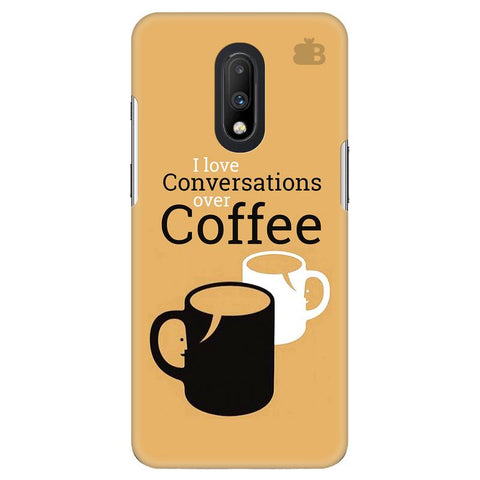 Convos over Coffee OnePlus 7 Cover