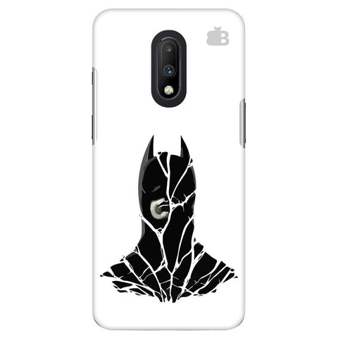Cracked Superhero OnePlus 7 Cover