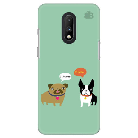 Cute Dog Buddies OnePlus 7 Cover