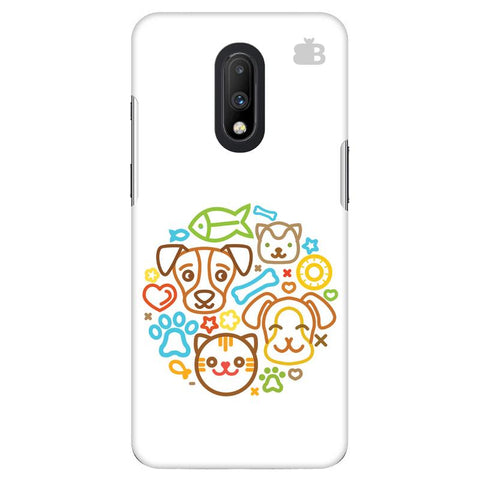 Cute Pets OnePlus 7 Cover