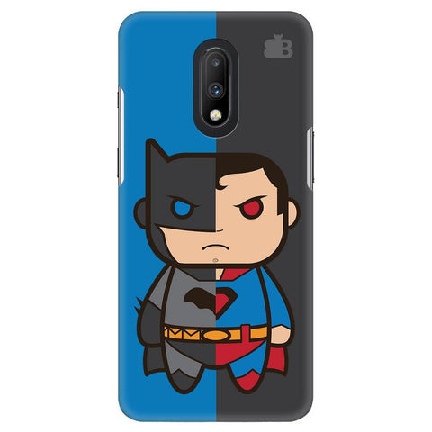 Cute Superheroes Annoyed OnePlus 7 Cover
