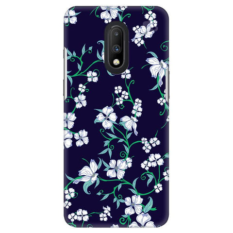 Dogwood Floral Pattern OnePlus 7 Cover