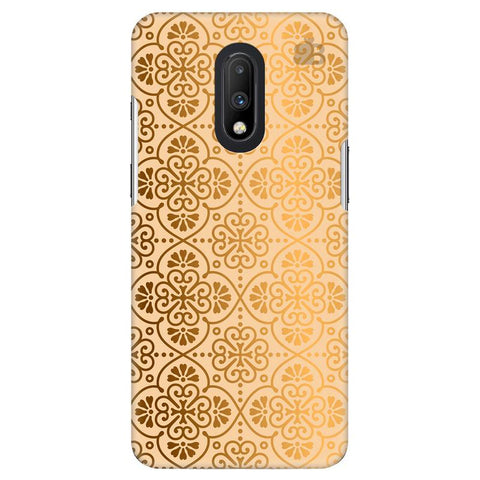 Ethnic Gold Ornament OnePlus 7 Cover