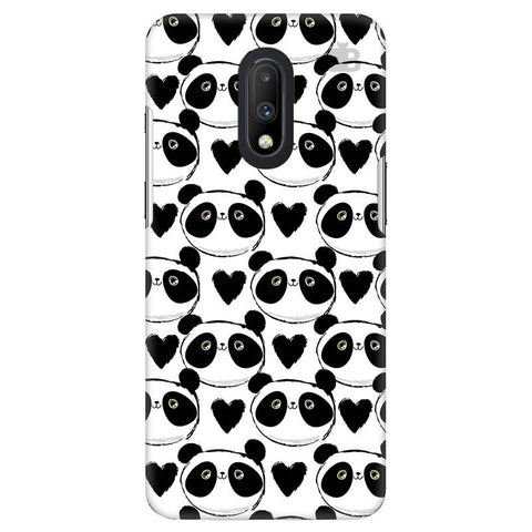 Happy Panda Pattern OnePlus 7 Cover