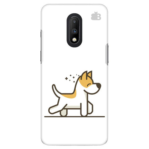 Happy Puppy OnePlus 7 Cover