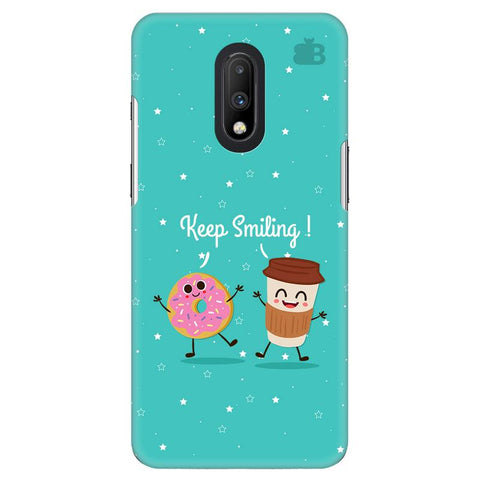 Keep Smiling OnePlus 7 Cover