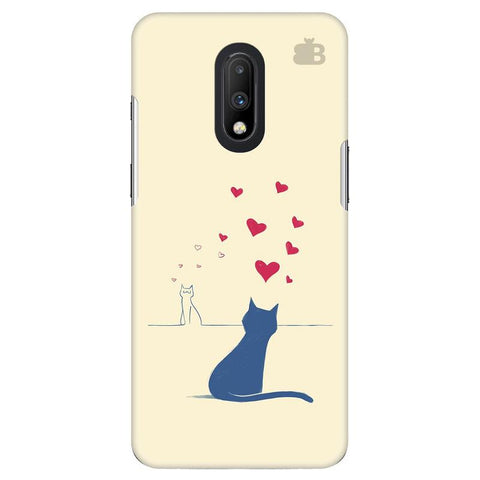 Kitty in Love OnePlus 7 Cover