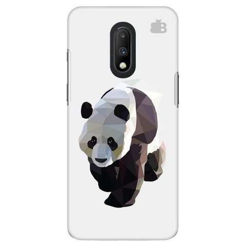 Low Poly Panda OnePlus 7 Cover