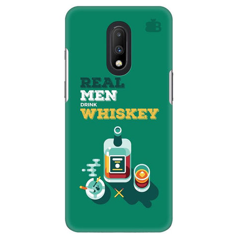 Men and Whiskey OnePlus 7 Cover