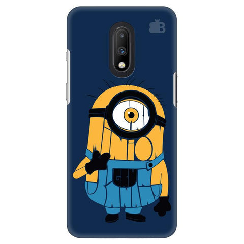 Minion Typography OnePlus 7 Cover