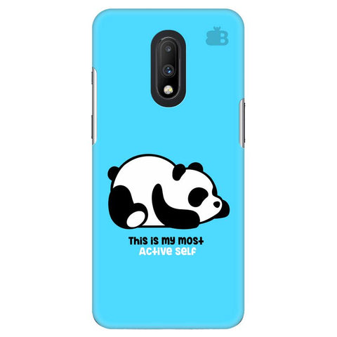 Most Active Panda OnePlus 7 Cover