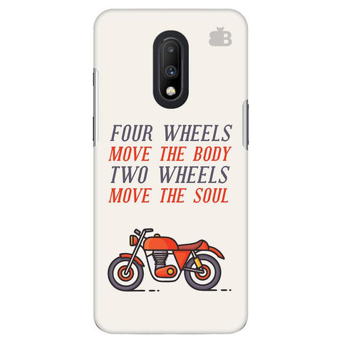 Motorcyclist OnePlus 7 Cover
