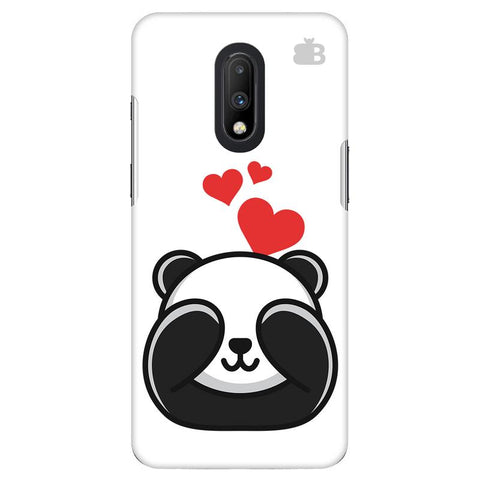 Panda In Love OnePlus 7 Cover