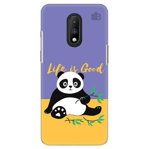 Panda Life is Good OnePlus 7 Cover
