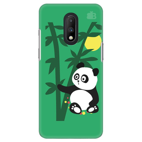 Panda in Woods OnePlus 7 Cover