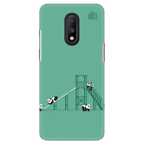 Pandas Playing OnePlus 7 Cover