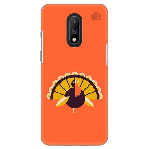 Peacock OnePlus 7 Cover