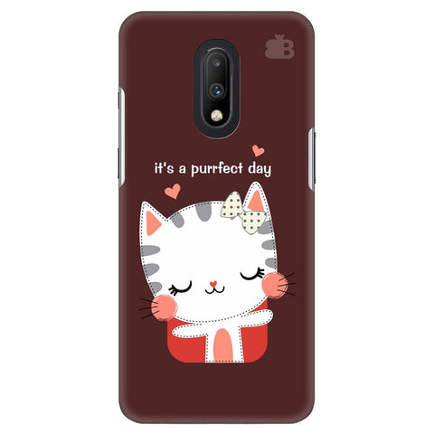 Purrfect Day OnePlus 7 Cover