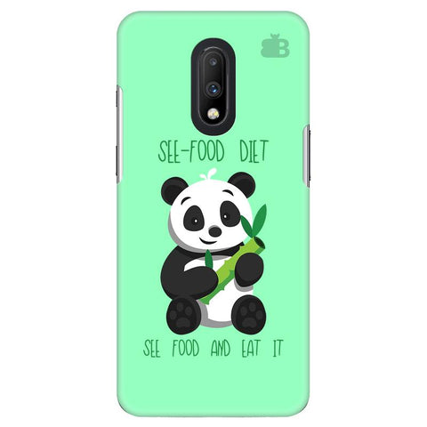 See-Food Diet OnePlus 7 Cover