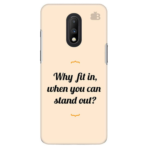 Stand Out OnePlus 7 Cover