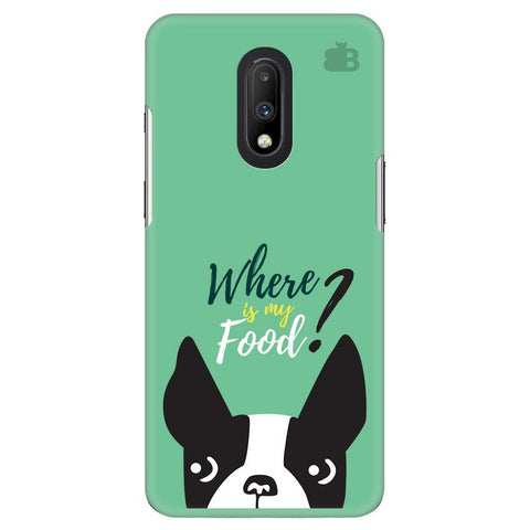 Where is my Food OnePlus 7 Cover