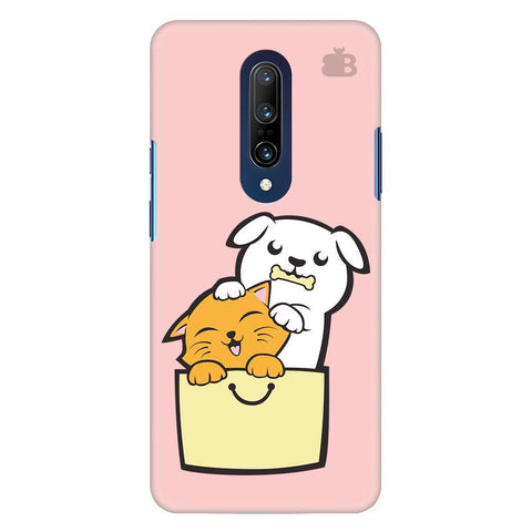 Kitty Puppy Buddies Oneplus 7 Pro Cover