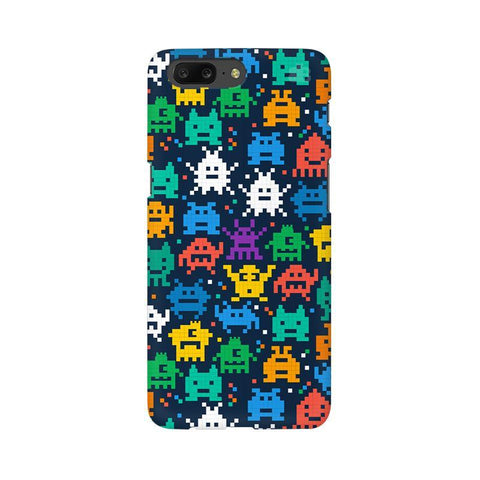 16 Bit Pattern OnePlus 5 Phone Cover