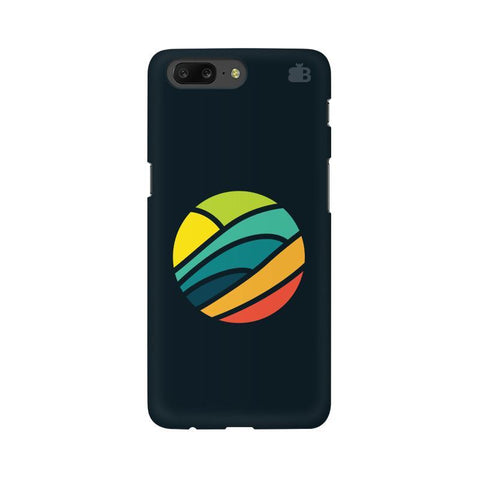 Abstract Circle OnePlus 5 Phone Cover