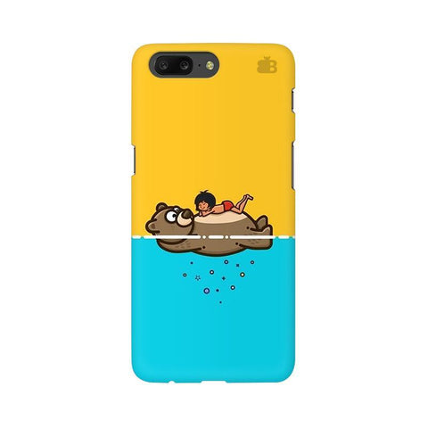 Baloo and Mowgli OnePlus 5 Phone Cover