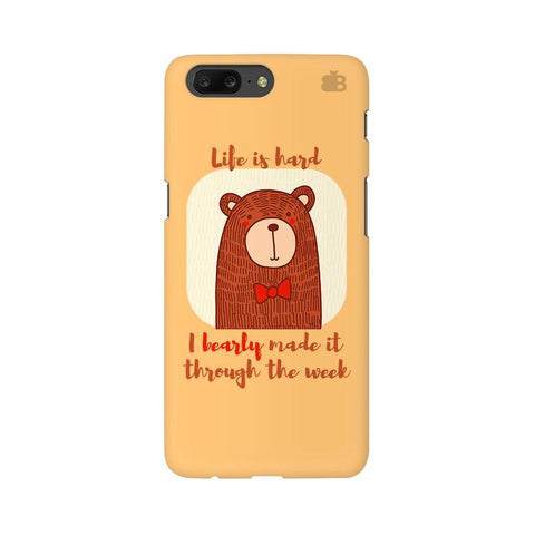 Bearly Made It OnePlus 5 Phone Cover