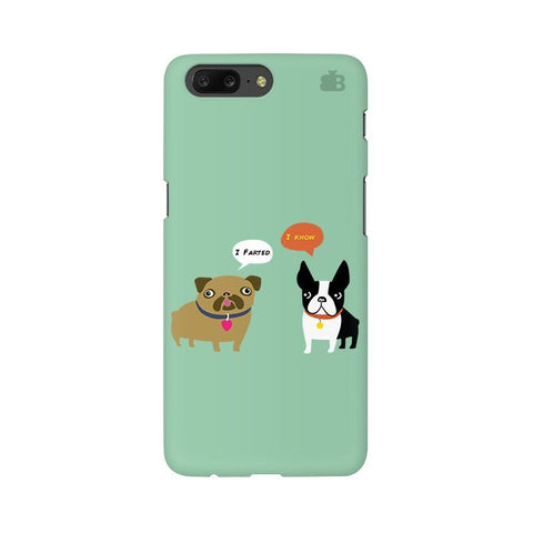 Cute Dog Buddies OnePlus 5 Phone Cover