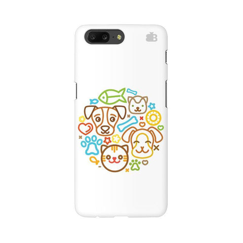 Cute Pets OnePlus 5 Phone Cover