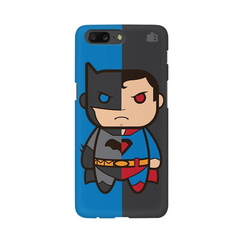 Cute Superheroes Annoyed OnePlus 5 Phone Cover