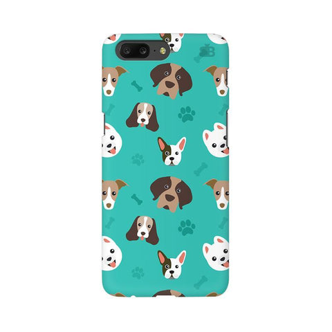 Doggie Pattern OnePlus 5 Phone Cover