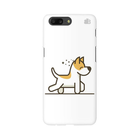Happy Puppy OnePlus 5 Phone Cover