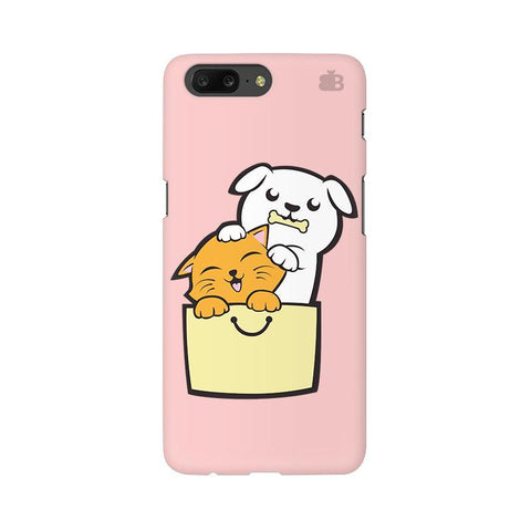 Kitty Puppy Buddies OnePlus 5 Phone Cover