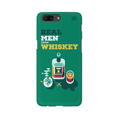 Men and Whiskey OnePlus 5 Phone Cover
