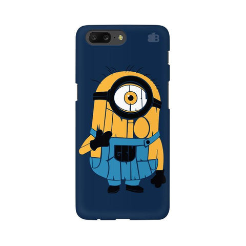 Minion Typography OnePlus 5 Phone Cover