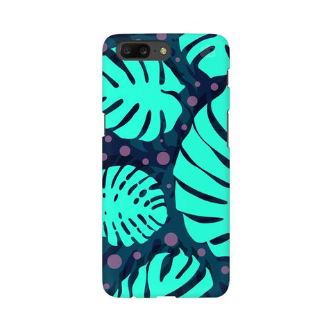 Tropical Leaves Pattern OnePlus 5 Phone Cover