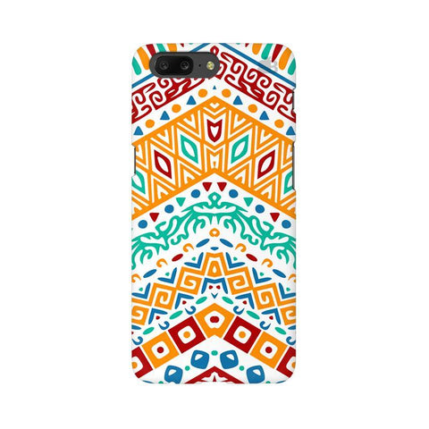 Wavy Ethnic Art OnePlus 5 Phone Cover